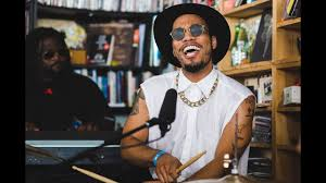 Anderson .Paak & The Free Nationals: NPR Music <b>Tiny</b> Desk ...