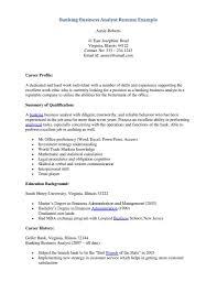 recent banking resume s banking lewesmr sample resume banking business analyst resume