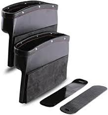 <b>Car Seat</b> Pockets PU Leather <b>Car</b> Console Side Organizer Seat <b>Gap</b> ...
