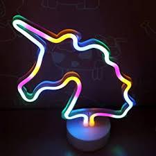 unicorn neon light - Amazon.com