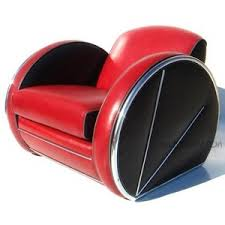 streamline art deco style custom made sofa club chair ottoman art deco furniture style art deco armchair