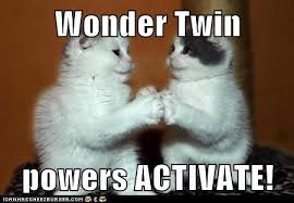 Behind the Super Friends: Wonder Twin Powers, Activate! | The ... via Relatably.com