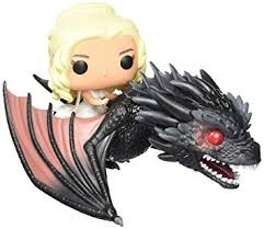 Buy <b>FunKo POP Rides</b>: <b>Game</b> of Thrones - Dragon & Daenerys ...