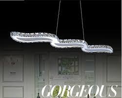 <b>Modern</b> Luxury Silver lustres Crystal <b>LED Chandeliers</b> Crystal Lamp ...