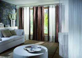 decor bedroom contemporary curtain ideas living