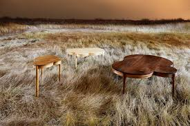 maine based furniture designer matt huttons series of tables is an example of the circles architectural digest furniture