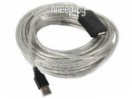 <b>Аксессуар</b> VCOM USB 2.0 AM-AF 10m VUS7049-10M
