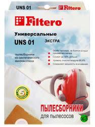Купить <b>Мешок</b>-<b>пылесборник Filtero UNS 01</b> Экстра по супер ...