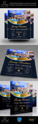 luxury real estate flyer template by owpictures graphicriver luxury real estate flyer template commerce flyers