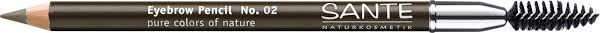 Натуральный <b>карандаш для бровей Sante</b>, тон №02, Брауни ...