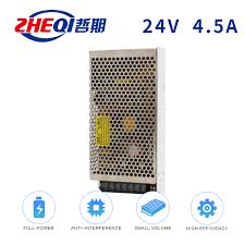 China <b>24V</b> 4.5A <b>Switching Power Supply S</b>-<b>100</b>-24 Single Output ...