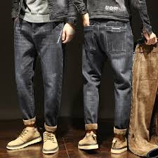 Special Offers <b>winter men</b> jeans pants warm <b>size</b> 38 list and get free ...