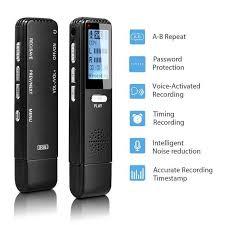 Online Shop <b>Vandlion</b> Digital Voice Activated Recorder Sound ...