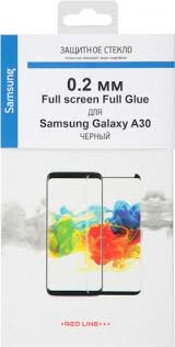 Стекло <b>защитное RedLine</b> Samsung Galaxy A30 Full <b>Screen</b> Full ...