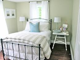 simple guest room ideas with wrought iron frame bed bedroom endearing rod iron