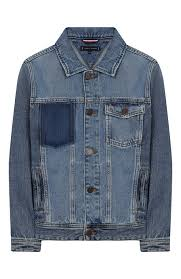 <b>Джинсовая</b> куртка <b>TOMMY HILFIGER</b> синего цвета — купить за ...