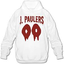 Jack Paul <b>Halloween</b> Ghost <b>Blood Pattern</b> Hoodie White: Amazon.ca ...
