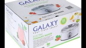 Моя новая помощница на кухне <b>Йогуртница GALAXY GL 2690</b> ...