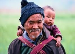 Resultado de imagem para elderly and child