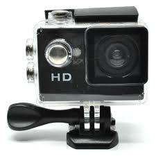 <b>Action Camera</b> A7 Waterproof 1080P Wide Angle Layar LCD - Black ...