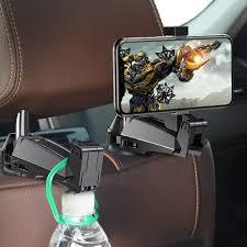 <b>Car Rear Seat</b> Headrest Phone <b>Bracket</b> Holder Hook – Phone Fix Craft