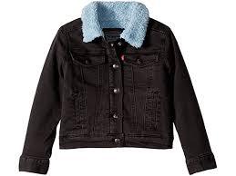 <b>Levi's</b>® Kids Sherpa <b>Lined Trucker</b> (Little Kids) | Mnje