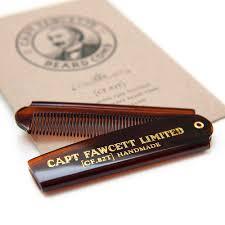 Captain Fawcett <b>Складная расческа для бороды</b> . CF82T — купить ...