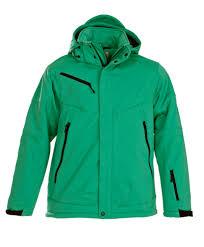 <b>Куртка софтшелл мужская Skeleton</b>, зеленая (артикул 6275.90 ...