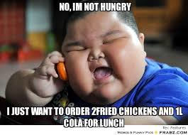 no, im not hungry... - Fat Baby Meme Generator Captionator via Relatably.com