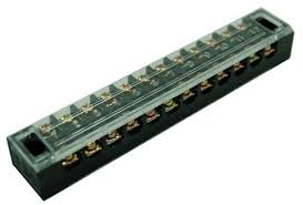 Electrical Fixed Type 15A 12pole Barrier <b>Terminal Block TB</b>-<b>1512</b> ...