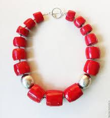 Купить <b>Red</b> коралловые <b>бусы</b> - ярко-<b>красный</b>, <b>красный</b>, <b>красный</b> ...