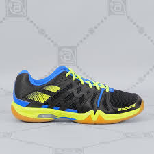 Babolat Men's Shadow Team <b>Badminton Shoes</b> - Black/Yellow ...
