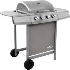 Garden & Patio Stainless Steel <b>Gas BBQ Grill</b> with 6 Cooking Zones ...