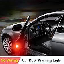 <b>2x Car Door</b> Lights LED <b>Warning</b> Lamp Signal Lamp For VW POLO ...