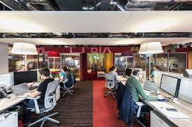 another look at the work space google dublin office designs camenzind evolution check google crazy offices