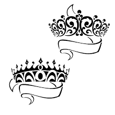 Small Picture Prince and Princess Crown Coloring Pages NetArt