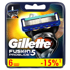 <b>Кассеты</b> для станка `<b>GILLETTE</b>` `<b>FUSION</b>` <b>PROGLIDE</b> 6 шт купить ...