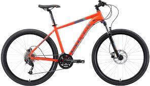 Велосипед кросс-кантри <b>Stark</b>'19 Router HD, оранжевый, серый ...