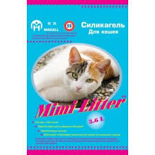 <b>Наполнитель</b> для кошачьего туалета <b>Mimi Litter Силикагель</b> для ...