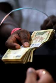 what s behind the declining rupee the new york times
