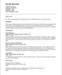 retail manager resume resume  seangarrette coretail manager resume example sample resume retail sales