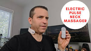 Portable Smart <b>Electric Pulse Neck Massager</b> Review - YouTube