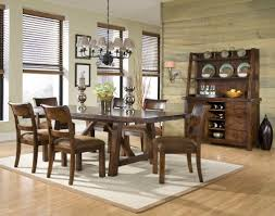 Trestle Dining Room Sets Hillsdale Pine Island Trestle Dining Table Old White Dark Pine