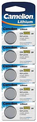 <b>Батарейка CAMELION</b>, Lithium Battery, <b>CR2032</b>-<b>BP5</b>, CR2032, 3V ...