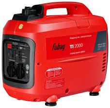 Бензиновый <b>генератор Fubag TI 2000</b> (68219) (1600 Вт) — купить ...