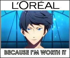 Anime meme free iwatobi swim club | Anime days | Pinterest | Anime ... via Relatably.com