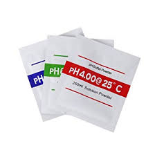 3pcs/lot PH Buffer Powder for Test Meter Measure ... - Amazon.com