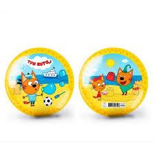 <b>Мяч</b> Яигрушка <b>Три кота</b> - 2 15 см, артикул: 59759ЯиГ - купить в ...