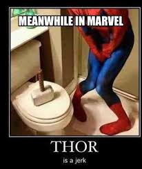 Meanwhile in marvel - funny memes - http://jokideo.com/meanwhile ... via Relatably.com