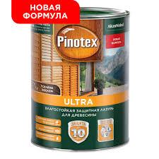 <b>Лазурь влагостойкая</b> для <b>дерева</b> PINOTEX ULTRA орегон 1л от ...